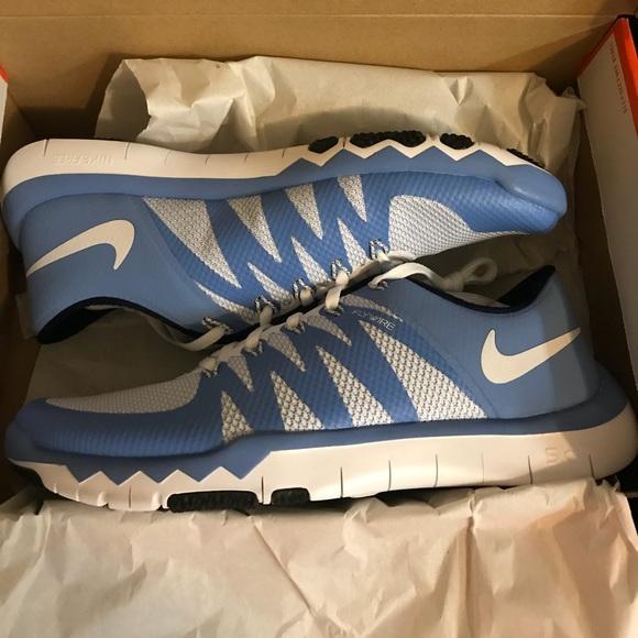 3a1b5fe81453 Nike Free Trainer 5.0 UNC Tar Heels
